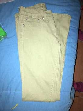 Pantalon de cadera color verde
