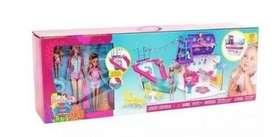 Muñeca Barbie crucero de lujo, tres muñecas en caja original ganga