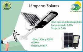 Lampara Solar Profesional