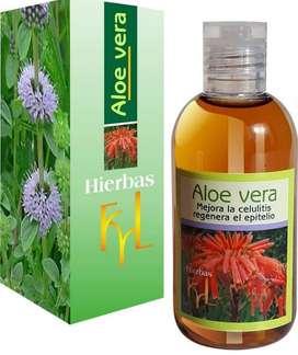 Aloe vera para celulitis