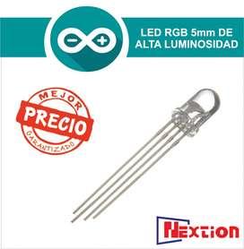 Led Rgb 5mm De Alta Luminosidad 4 X 1