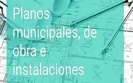 Planos municipales, inst. gas