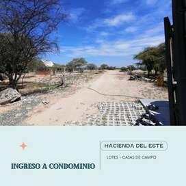 LOTES INDEPENDIZADOS - PARA CASAS DE CAMPO