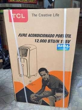 aire acondicionado portátil 12.000 BTU marca TLC NUEVO SELLADO