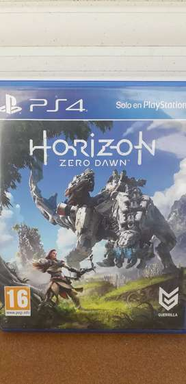 Horizon zero dawn físico ps4... liquído!!!