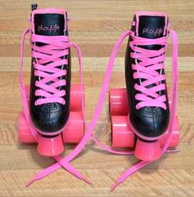 Vendo un par de patines Playlife talle 30 con muy poco uso