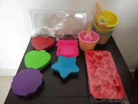 Kit de recipientes plásticos nuevos