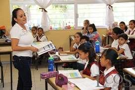 PROFESORA DICTA CLASES DE CURSOS DE PRIMARIA