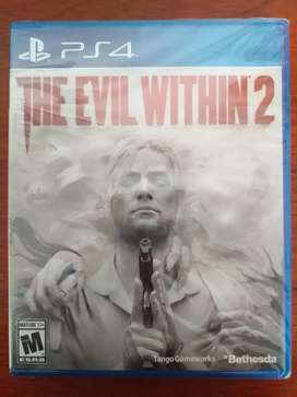 Juego de PS4 The Evil Within 2