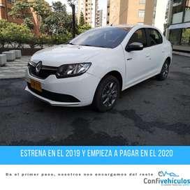Renault Logan Expression GAS 2017 ¡Págalo Fácil en Cuotas Bajas!