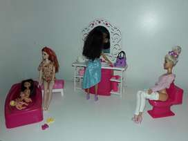 Set de Baño Barbie Vintage