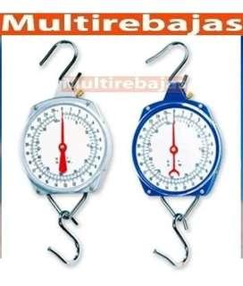 Llego Báscula Balanza Colgante Tipo Reloj De Acero Inoxidable