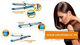 Plancha Alisador Rizador 2 En 1 Optima 3000 Gruponatic San Miguel