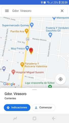 Local con terreno 1250 m2. Av. San Martín. Excelente ubicación. Dueño directo. Ruta 14