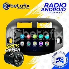 RADIO ANDROID PARA TOYOTA RAV 4 2006/2011 GPS BT USB WIFI BETAFIX DESDE