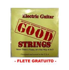 CUERDAS GUITARRA ELECTRICA 09 GOOD ELECTRIC