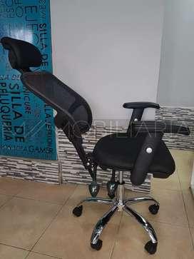 Silla de oficina EJECUTIVA reclinable ALTA calidad