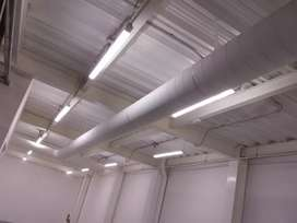 iluminación de bodega, Montajes electricos