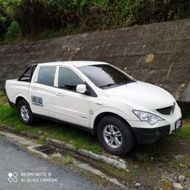 SsangYong Actyon Sports 2011 4x4 doble cabina