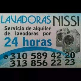Alquiler de lavadoras Nisi
