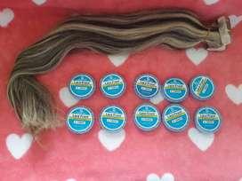 insumos para extensiones de cabello