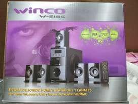 Vendo home theater w-5186 marca winco