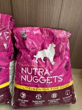 Concentrado Nutra-nuggets senior