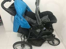 Coche para bebé Y silla vibradora