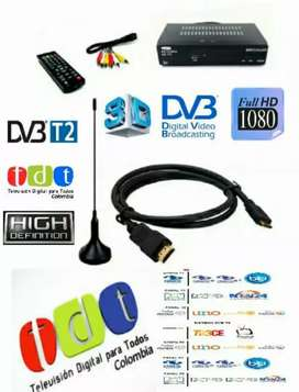 Kit Decodificador TDT con antena
