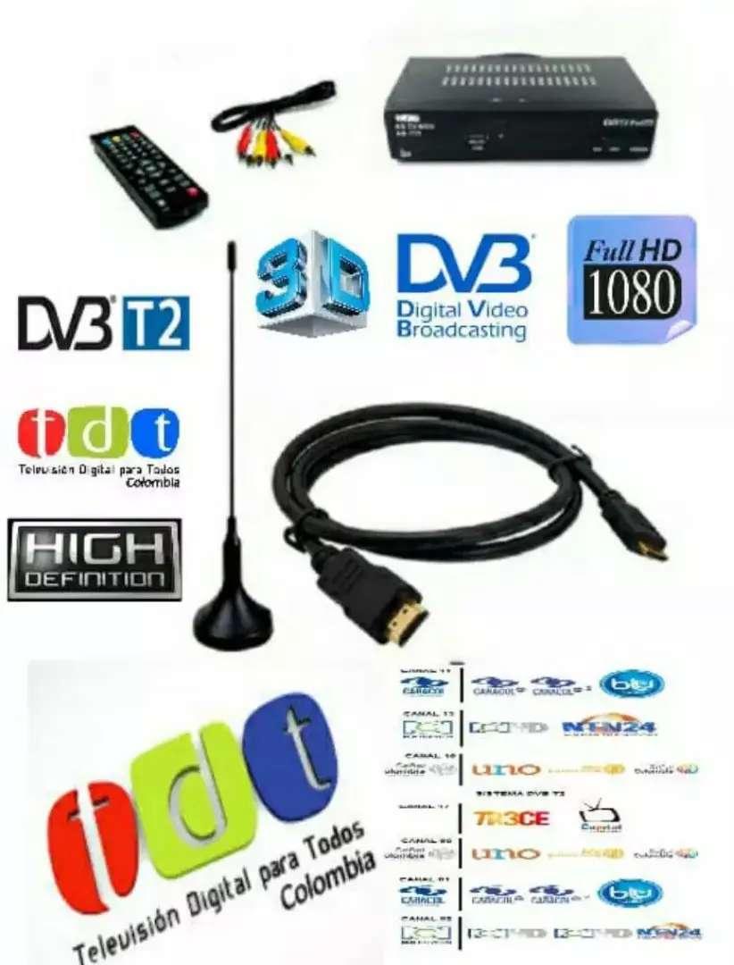 Kit Decodificador TDT con antena 0