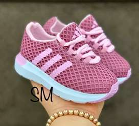 Zapato Tennis Deportivo Adidas Niños