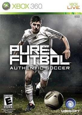 Pure Futbol Xbox 360  Fisico Nuevo Sellado