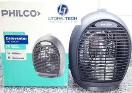Caloventor Philco 2000 W. 2 temperaturas.
