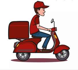 Trabajo como domiciliario con moto