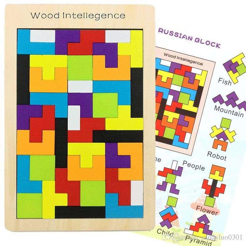 Juego de Tetris o  Puzzle para  niños NUEVO 0