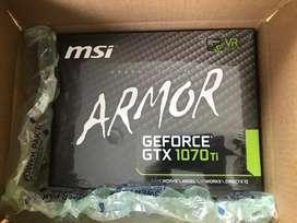 vendo tarjeta video MSI armor geforce Gtx1070ti 8gb