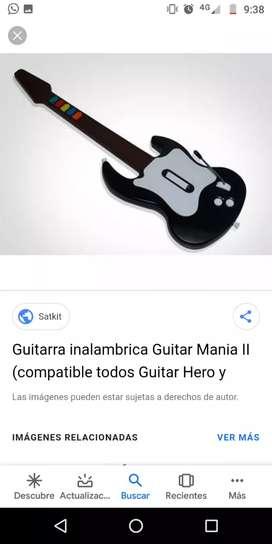 Guitarra inalámbrica Ps2