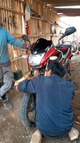 Moto hero hunk 150cc