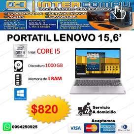 Laptops de diferentes procesadores y marcas