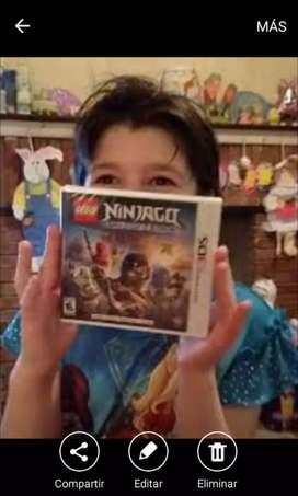 Juego para niños o adolescentes lego ninjago 3ds