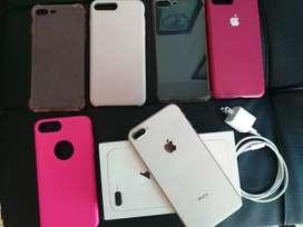 Iphone 8 plus excelente estado negociable