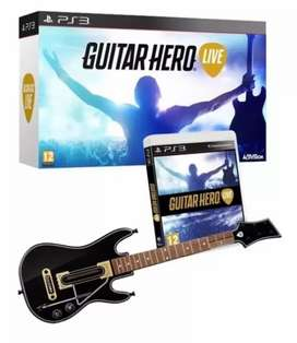 Guitar Hero Ps3 Promo En Caja Sellada Original en Moronvirtual