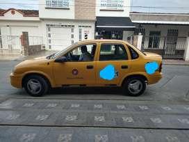 Vendo taxi Chevrolet Corsa muy buen estado