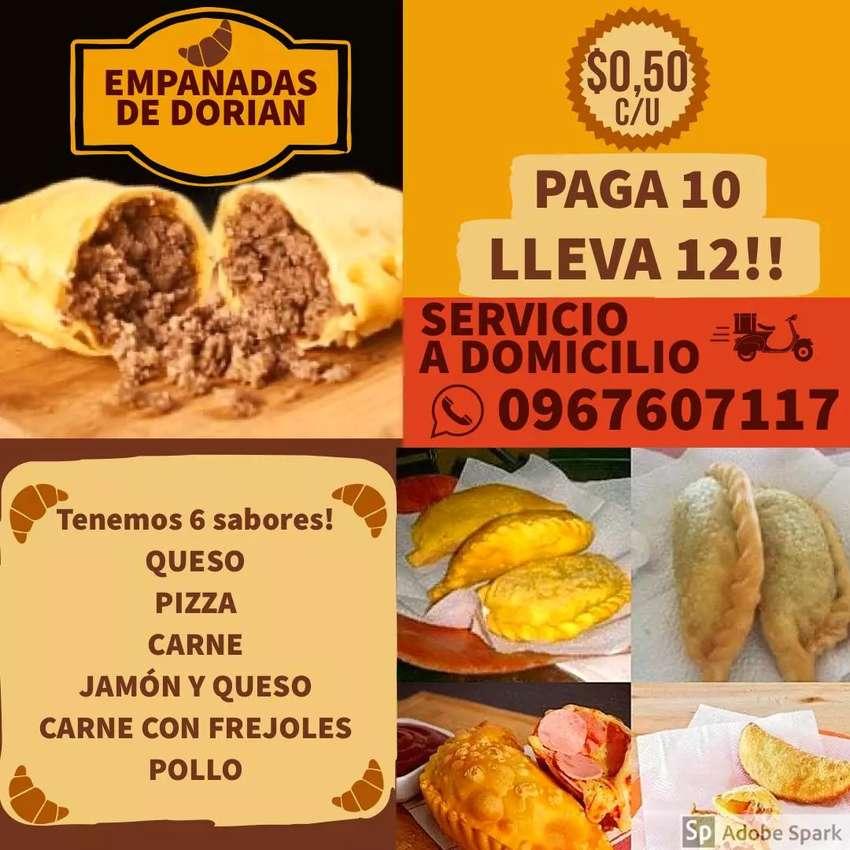 Vendo empanadas 12empanadas por 5$ 0