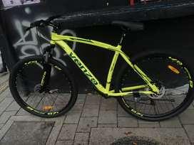Bicicleta de montaña talla L venzo rin 29