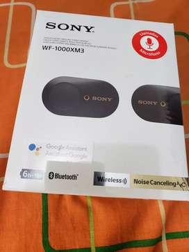 Audifonos Sony WF 1000 x3