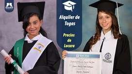 ALQUILER DE TOGA Y FOTOGRAFIA EN COMBO