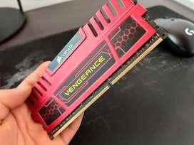 RAM Blindada Corsair 8gb perfecto estado.