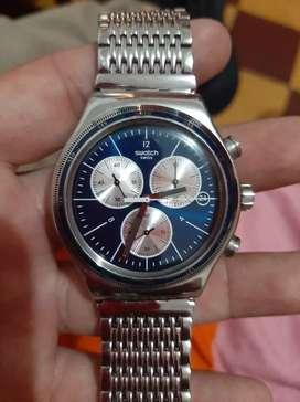 Reloj swatch swiss sr 365w swiss made 4 jewels