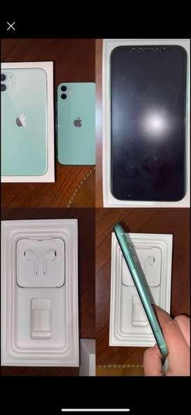 iPhone 11 verde menta de 128 GB